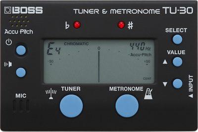 Boss TU-30 Tuner & Metronoom-0