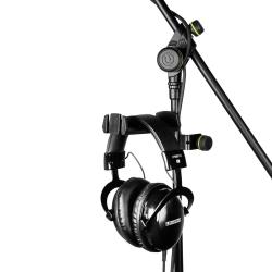 Gravity HPHMS 01 B Mic Stand Mount Headphones Hanger-0