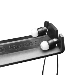 Gravity HPHMS 01 B Mic Stand Mount Headphones Hanger-5793