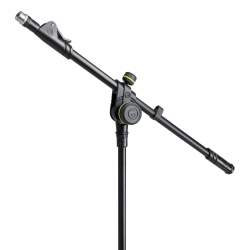 Gravity MS 4322 B Microphone Stand with Folding Tripod Base and 2-Point Adjustment Telescoping Boom-5830