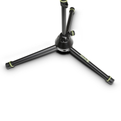 Gravity MS 4322 B Microphone Stand with Folding Tripod Base and 2-Point Adjustment Telescoping Boom-5837