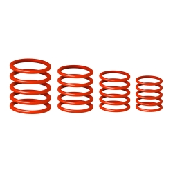 Gravity RP 5555 RED 1 Universal Gravity Ring Pack, Lust Red-0