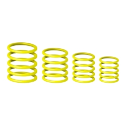 Gravity RP 5555 YEL 1 Universal Gravity Ring Pack, Sunshine Yellow-0