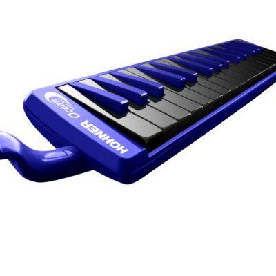 "HOHNER Melodica Student 32 ""Ocean"", Blauw, zwarte toetsen HOC943275-0"