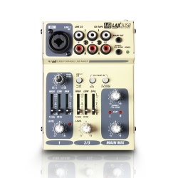 LD Systems LAX 3 USB, 3-Channel USB Mixer with Phantom Power-0
