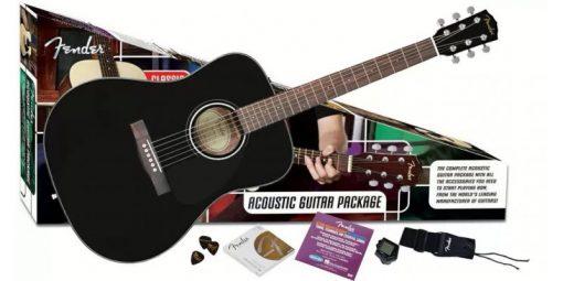 Fender CD60 Pack Zwart-0