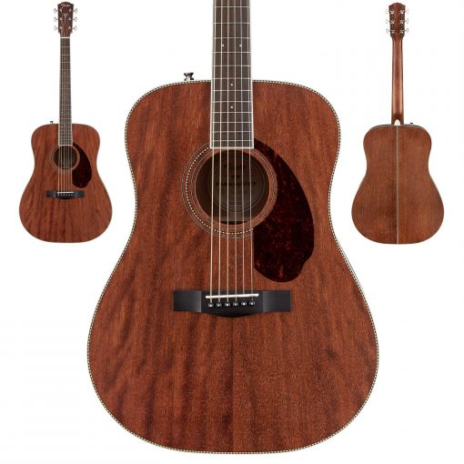 Fender PM-1 Dreadnought NE, All-Mahogany, incl case-6091