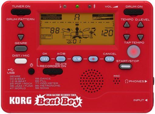 Korg Beat Boy Rhythm, effects, recorder, and a tuner-0