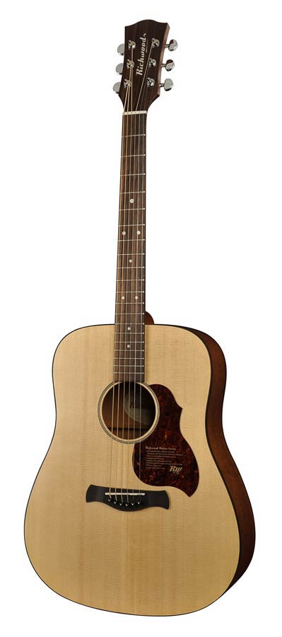 Richwood Master Series D-20-E, dreadnought gitaar-0