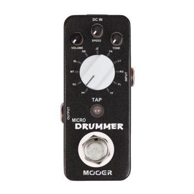 Mooer Micro Drummer drummachine-pedaal-0