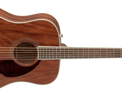 Fender PM-1 Dreadnought NE, All-Mahogany, incl case-0