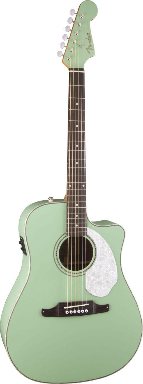 Fender Sonoran SCE Surf Green elek. akoestische western gitaar-6149
