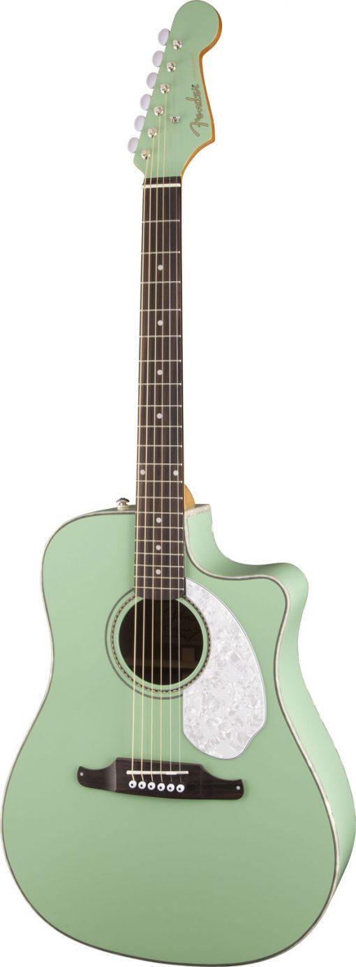 Fender Sonoran SCE Surf Green elek. akoestische western gitaar-6150