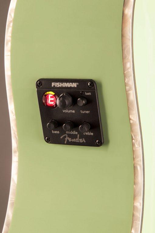 Fender Sonoran SCE Surf Green elek. akoestische western gitaar-6152