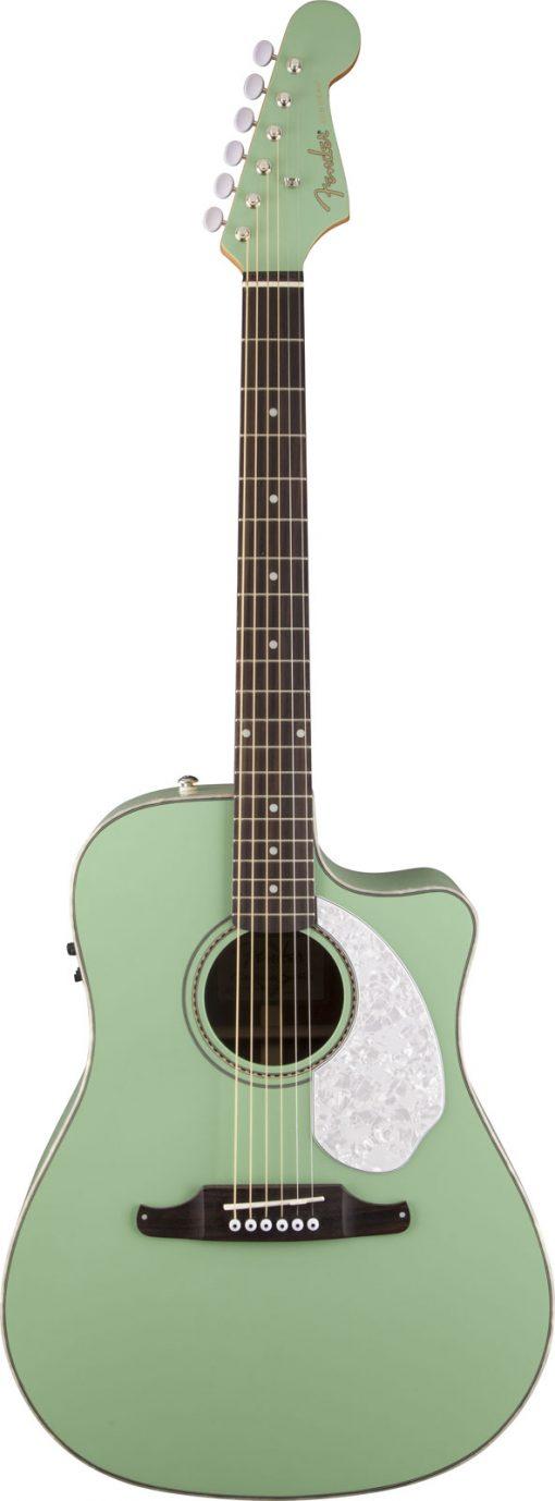 Fender Sonoran SCE Surf Green elek. akoestische western gitaar-0