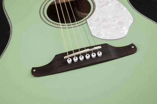 Fender Sonoran SCE Surf Green elek. akoestische western gitaar-6153