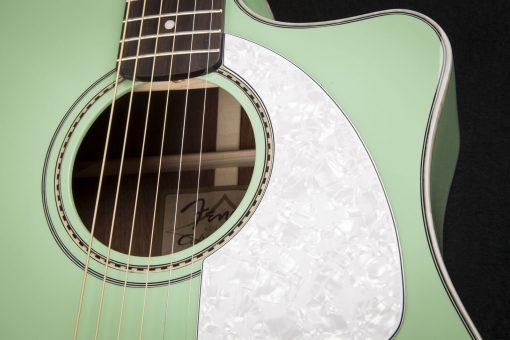 Fender Sonoran SCE Surf Green elek. akoestische western gitaar-6154